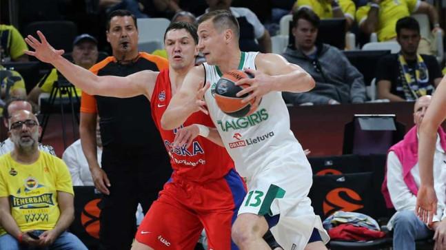 Üçüncülük maçı Zalgiris Kaunas'ın!