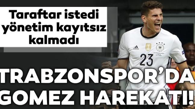 Trabzonspor'da Mario Gomez harekatı