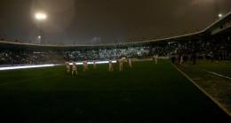 Ankaragücü-Adanaspor maçı yarıda kaldı