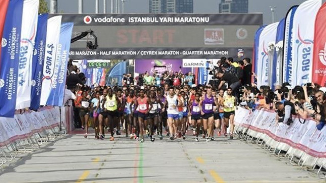 İstanbul Maratonu'nda dereceye girenlere 4,5 milyon liralık ödül