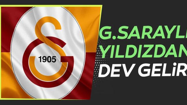 Galatasaraylı yıldızdan kulübe dev gelir!